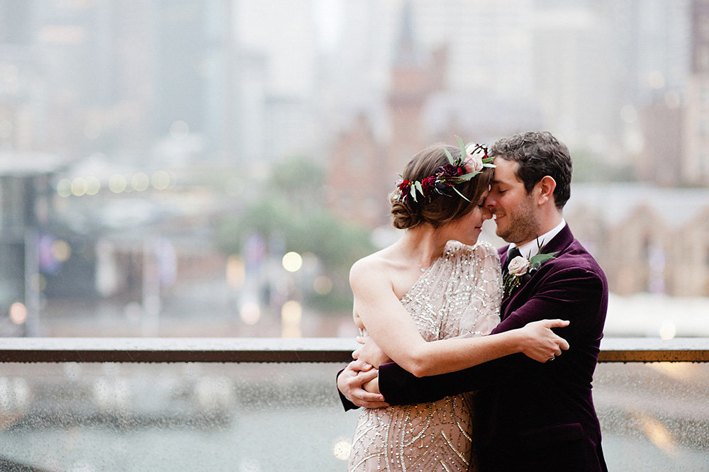 Sydney winter wedding florist